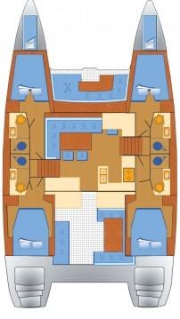 Verhuur Catamaran in Can Pastilla - Lagoon Lagoon 450