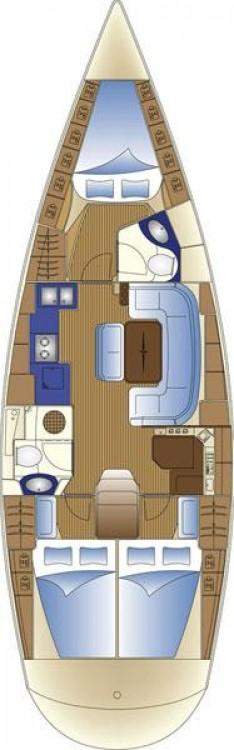 Verhuur Zeilboot in Leucade - Bavaria Cruiser 42