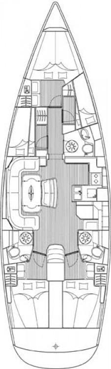 Jachthuur in Leucade - Bavaria Cruiser 50 via SamBoat