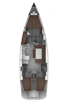 Verhuur Zeilboot in Lefkada (Island) - Bavaria Cruiser 50