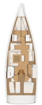 Huur een Dufour Dufour 520 Grand Large in Marina di Portorosa