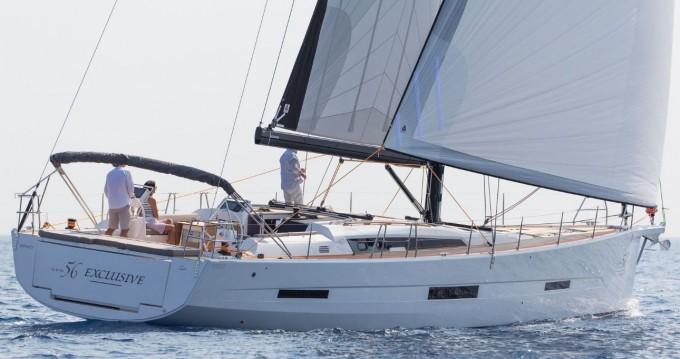 Bootverhuur Marina di Portorosa goedkoop Dufour 56 Exclusive
