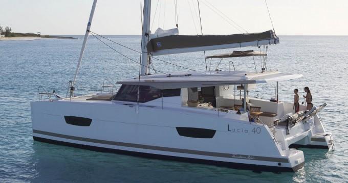 Bootverhuur Marina di Portorosa goedkoop Lucia 40