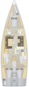 Verhuur Zeilboot in Lávrio - Hanse Hanse 588