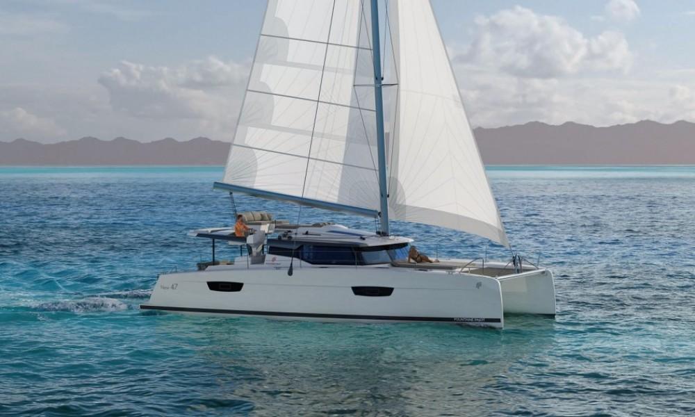 Verhuur Catamaran in  - Fountaine Pajot Saona 47