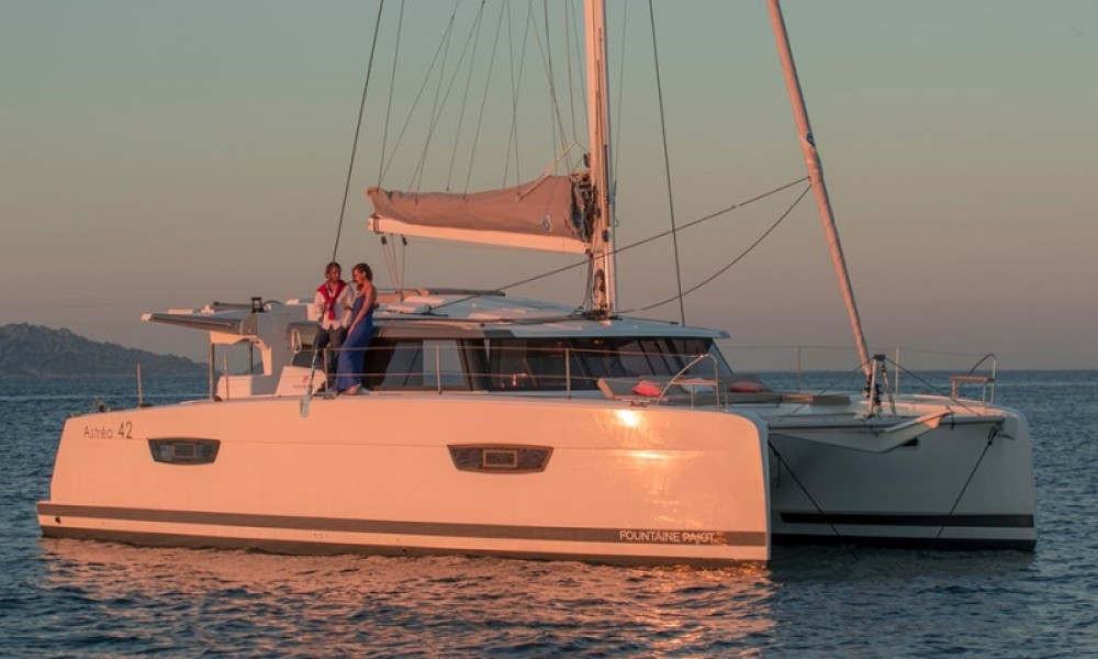 Jachthuur in Road Town - Fountaine Pajot Astrea 42 via SamBoat