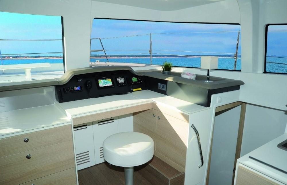 Verhuur Catamaran Catana met vaarbewijs
