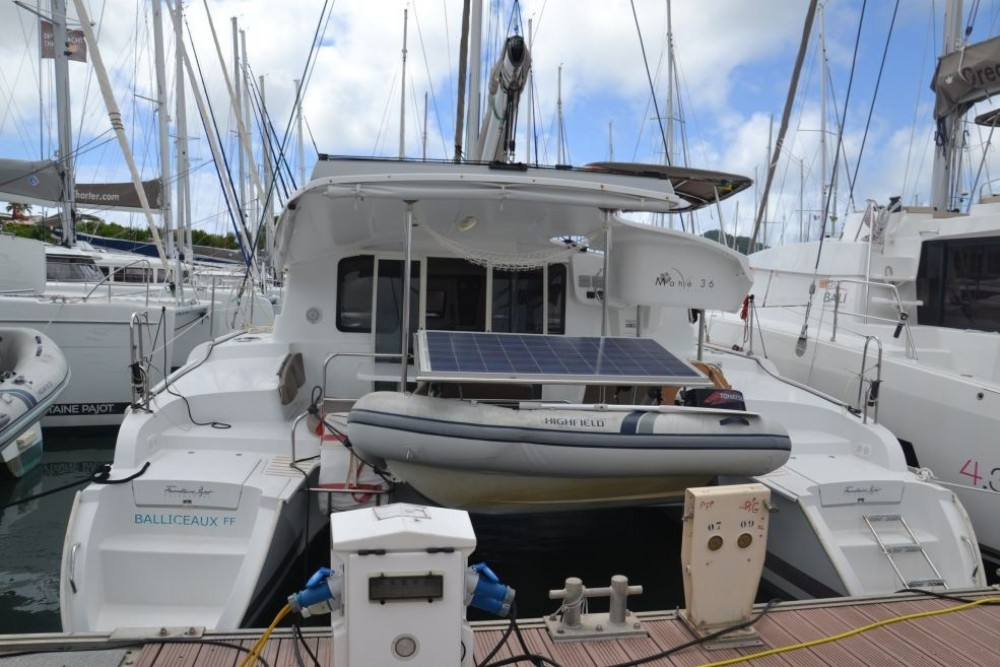 Bootverhuur Fountaine Pajot Mahe 36 Evolution in Pointe-à-Pitre via SamBoat