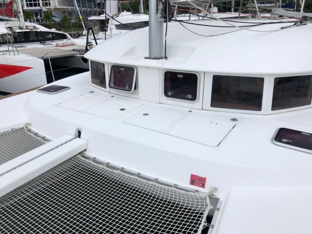 Huur Catamaran met of zonder schipper Lagoon in Gros Islet