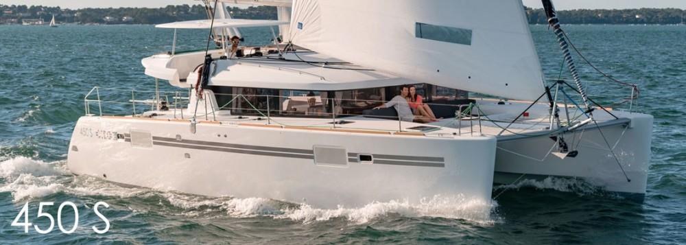 Jachthuur in Sint Maarten (Frankrijk) - Lagoon Lagoon 450 via SamBoat