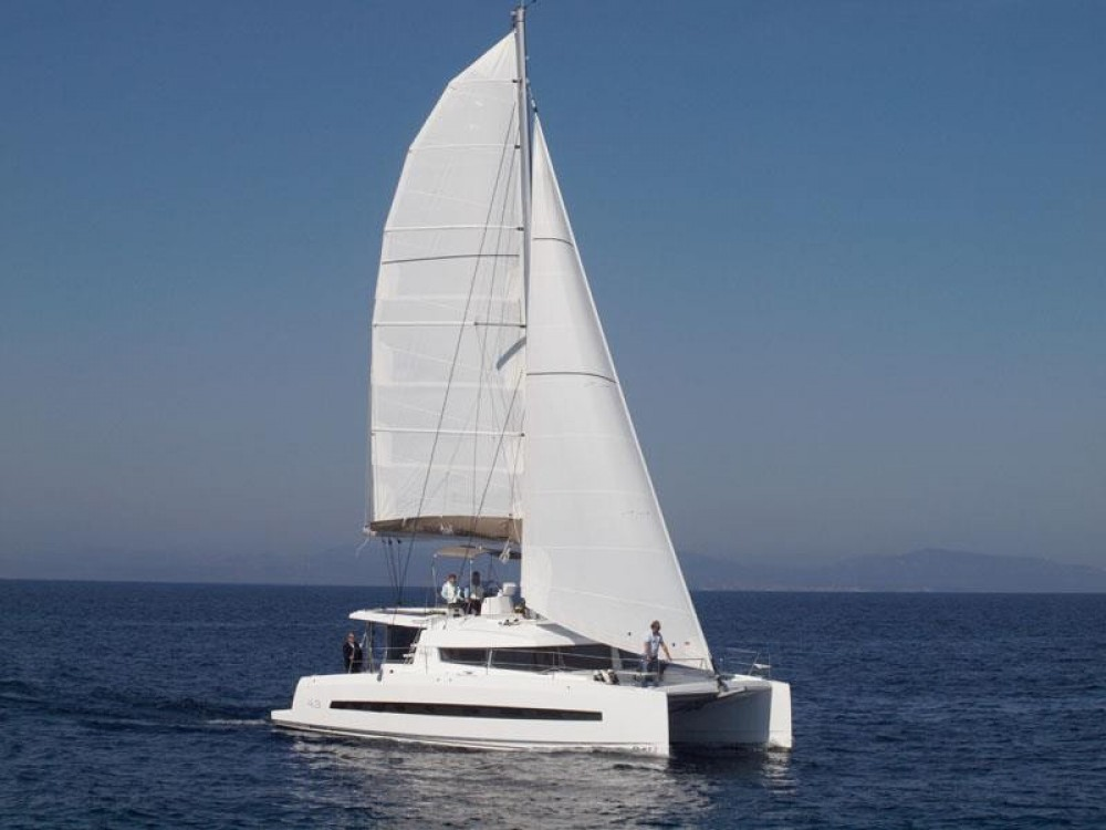Verhuur Catamaran in Napels - Catana Bali 4.3