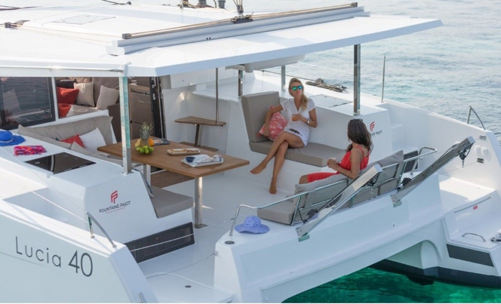 Fountaine Pajot Lucia 40 te huur van particulier of professional in Kotor