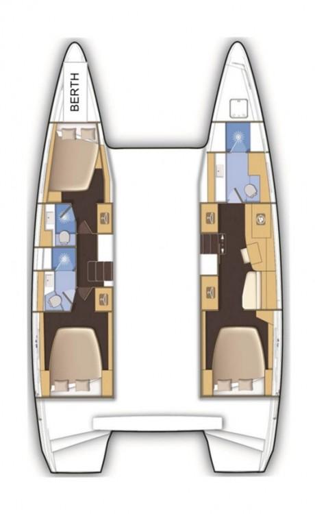 Verhuur Catamaran in Tortola - Lagoon Lagoon 42