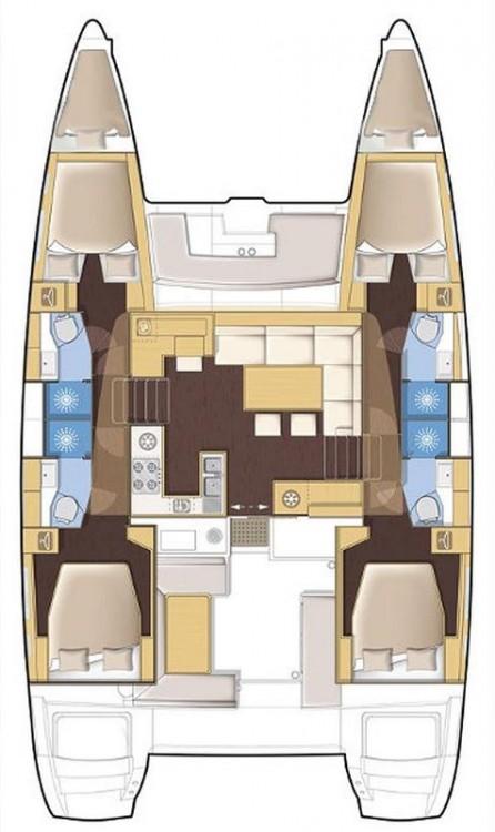 Bootverhuur Balearic Islands goedkoop Lagoon 450 F - 4 + 2 cab.