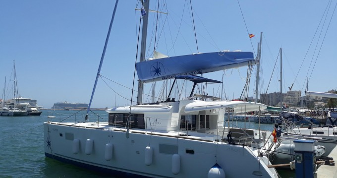 Verhuur Catamaran in Palma de Mallorca - Lagoon Lagoon 450 F