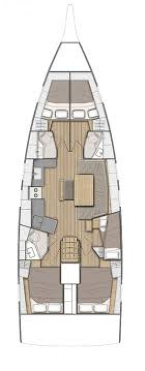 Bootverhuur Balearic Islands goedkoop Oceanis 46.1