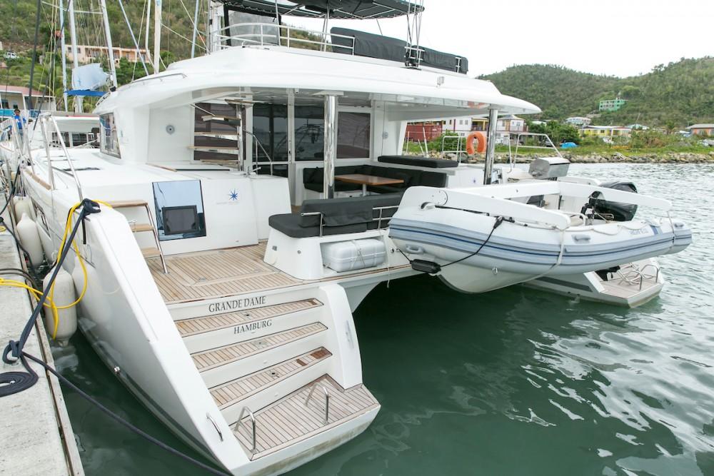 Huur een Lagoon Lagoon 560 S2 - 5 cab. in Tortola