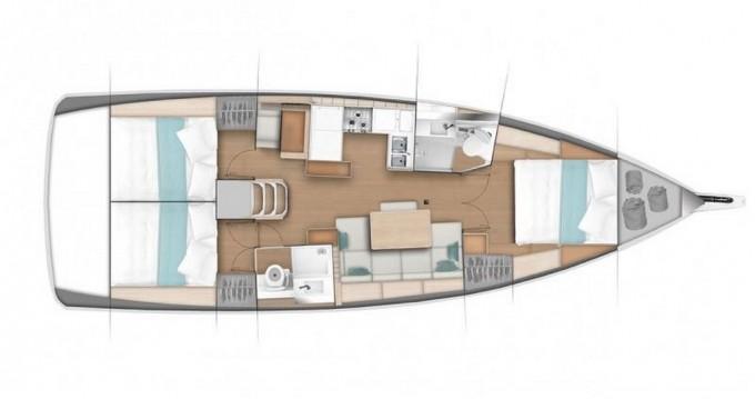 Jachthuur in Lidingö - Jeanneau Sun Odyssey 440 via SamBoat