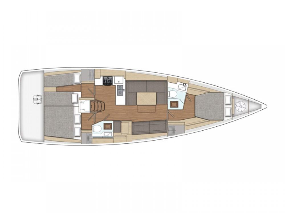 Verhuur Zeilboot in Λαύριο - X-Yachts X4-6 model 2019