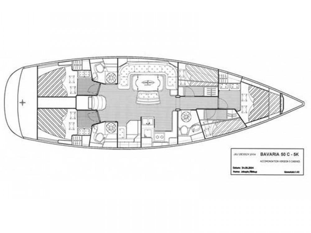 Bootverhuur Palma goedkoop Bavaria 50 Cruiser