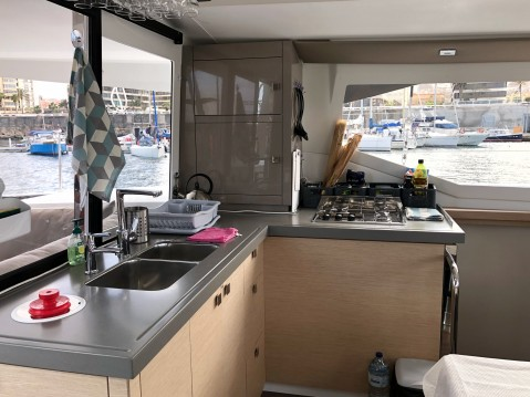 Jachthuur in Ibiza Town - Fountaine Pajot Lucia 40 via SamBoat