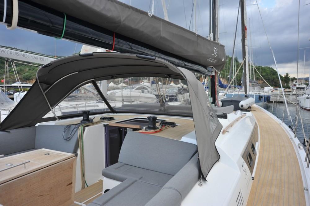 Dufour Dufour 56 Exclusive te huur van particulier of professional in Marina di Portisco