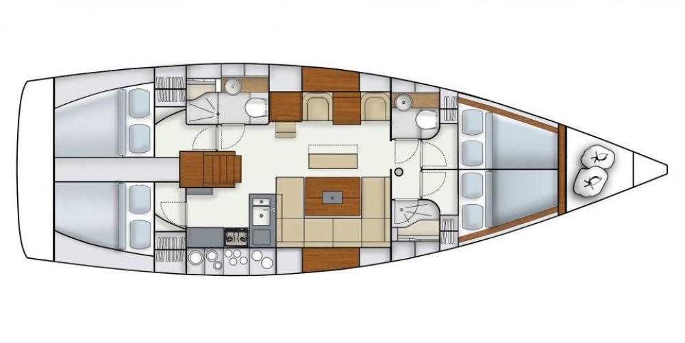 Verhuur Zeilboot in Komolac - Hanse Hanse 445