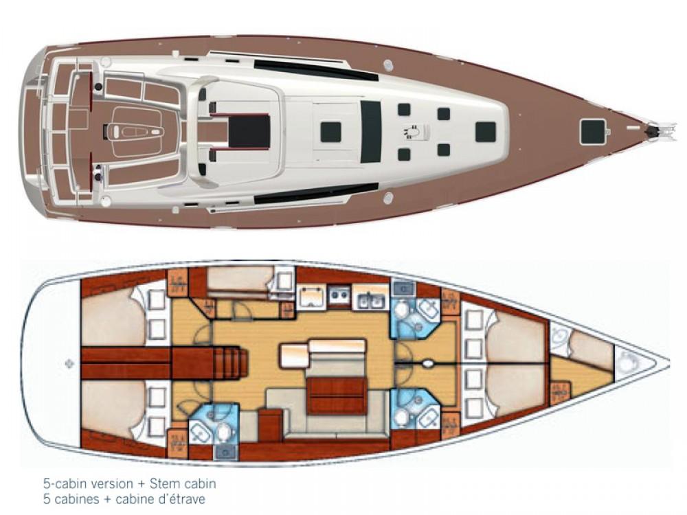 Huur Zeilboot met of zonder schipper Bénéteau in