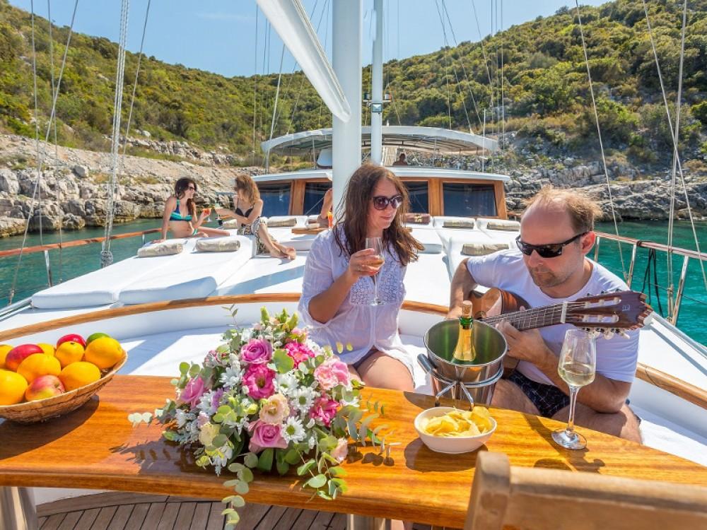Huur een  Gulet Allure in ACI Marina Dubrovnik