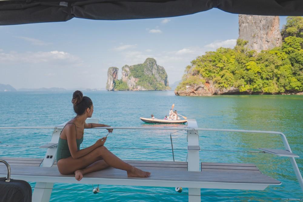 Verhuur Catamaran in Phuket - Lagoon Lagoon 52F
