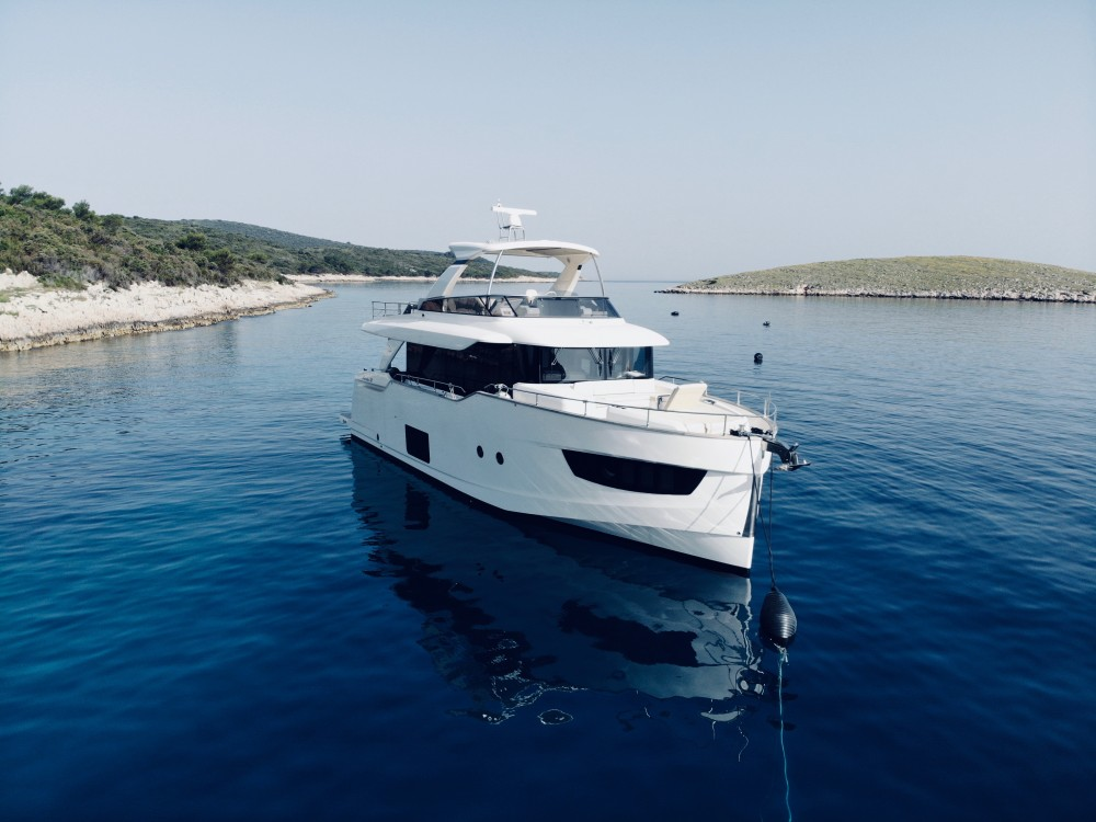 Verhuur Motorboot in Rogoznica - Absolute Navetta 58