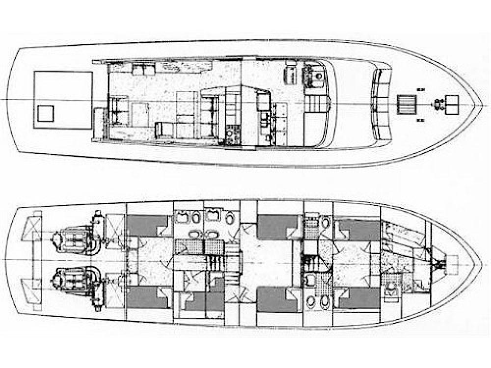 Huur Jacht met of zonder schipper Cantieri in Marina di Portisco