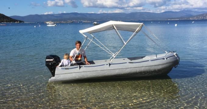 Bootverhuur Serra-di-Ferro goedkoop Fun Yak 390