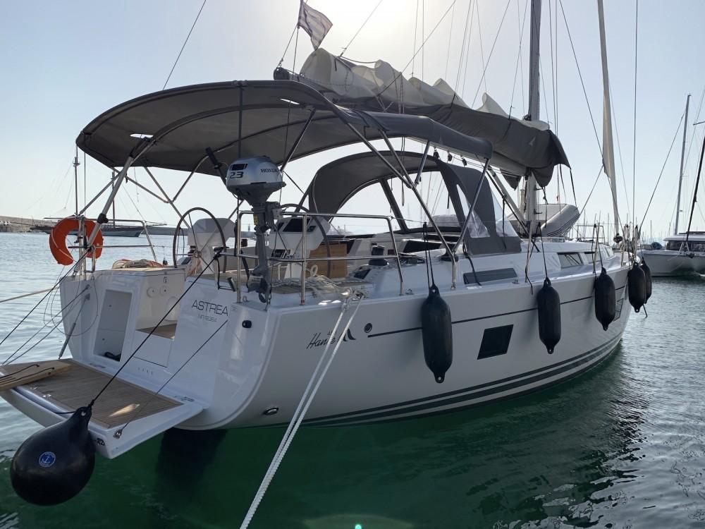 Verhuur Zeilboot in Λαύριο - Hanse Hanse 458