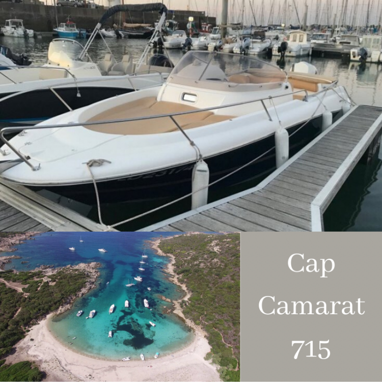 Verhuur Motorboot in Serra-di-Ferro - Jeanneau Cap Camarat 715 WA