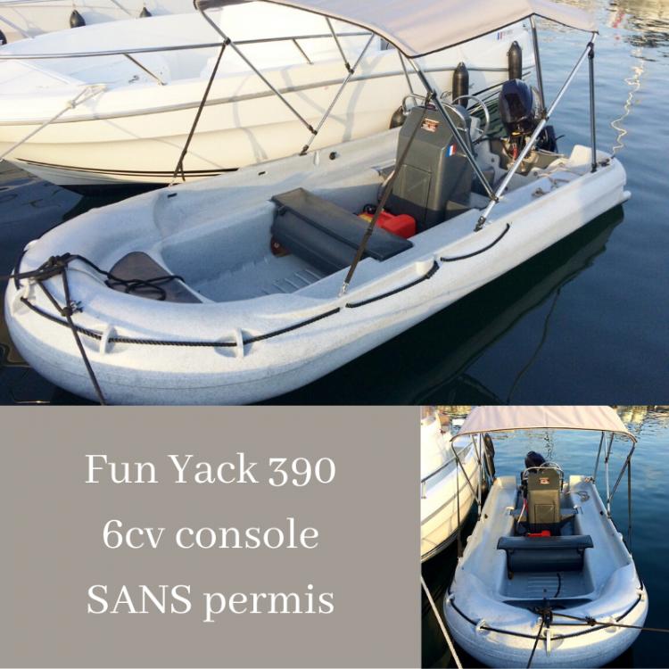 Verhuur Motorboot in Serra-di-Ferro - Funyak 390 console