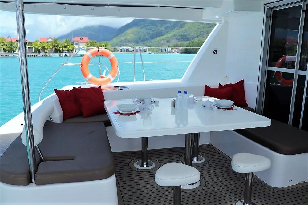 Verhuur Catamaran in Seychellen - Robertson and Caine Leopard 48