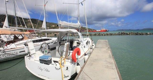 Bootverhuur Tortola goedkoop Oceanis 350