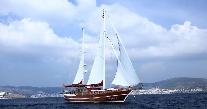 Verhuur Zeilboot in Bodrum - Custom Gulet