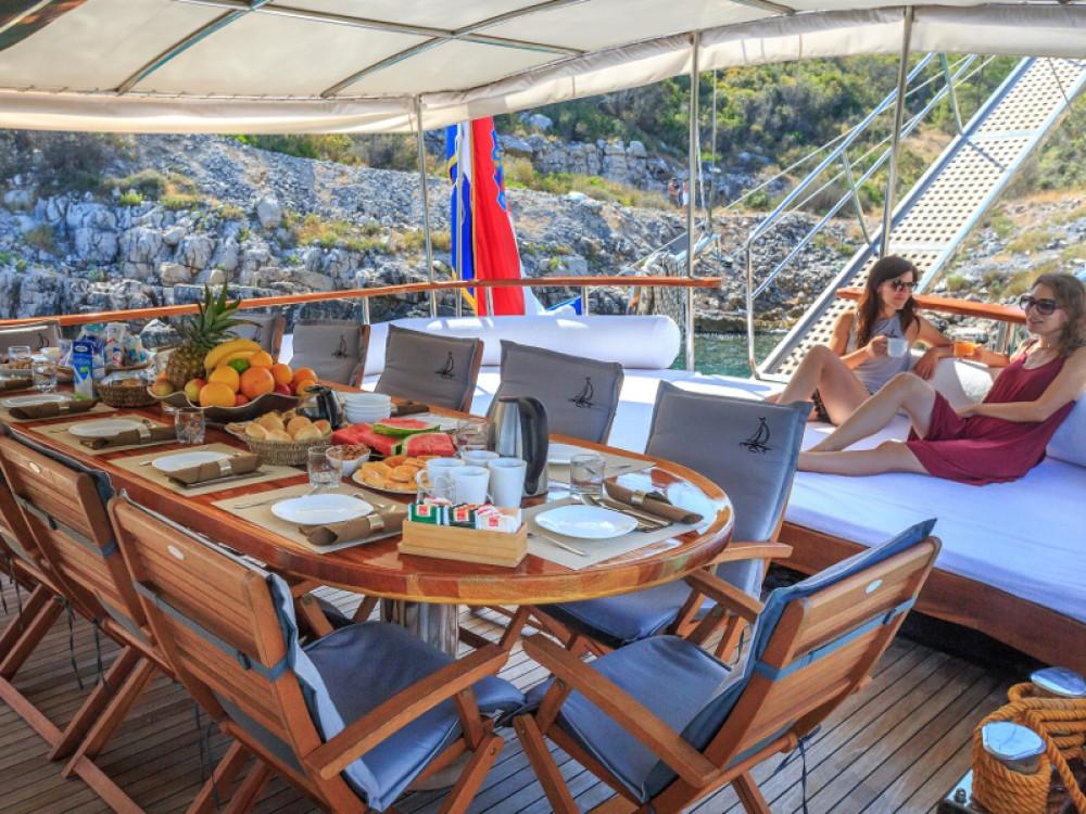 Bootverhuur ACI Marina Dubrovnik goedkoop Gulet Allure