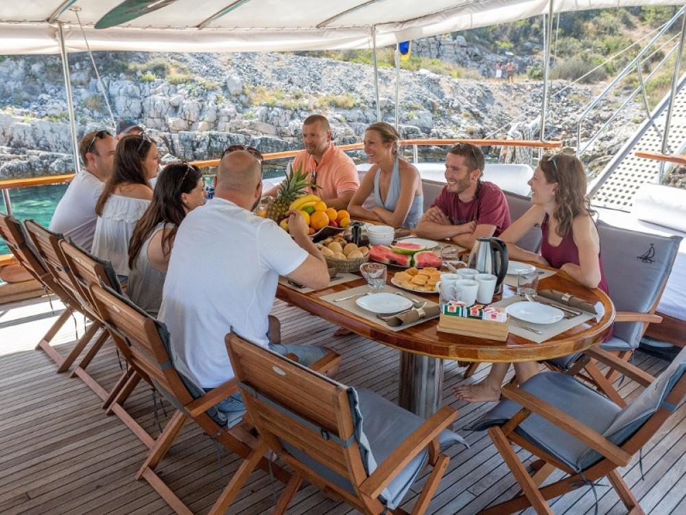 Verhuur Zeilboot in ACI Marina Dubrovnik -  Gulet Allure
