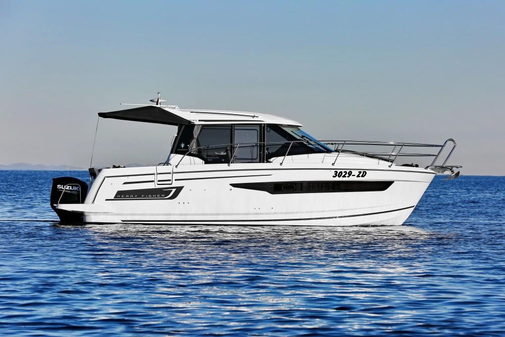 Verhuur Motorboot in Marina Zadar - Jeanneau Merry Fisher 895