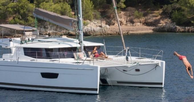 Verhuur Catamaran in Tortola - Fountaine Pajot Helia 44 Evolution