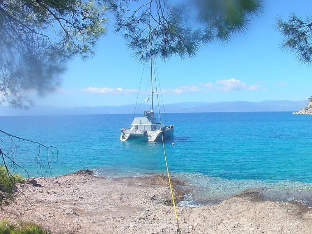 Bootverhuur Lagoon Lagoon 500 in Marina de Alimos via SamBoat