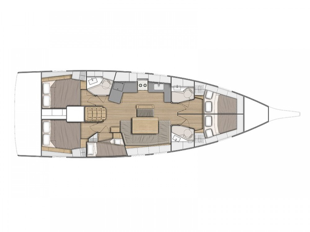 Bootverhuur Ibiza Magna goedkoop Oceanis 46.1