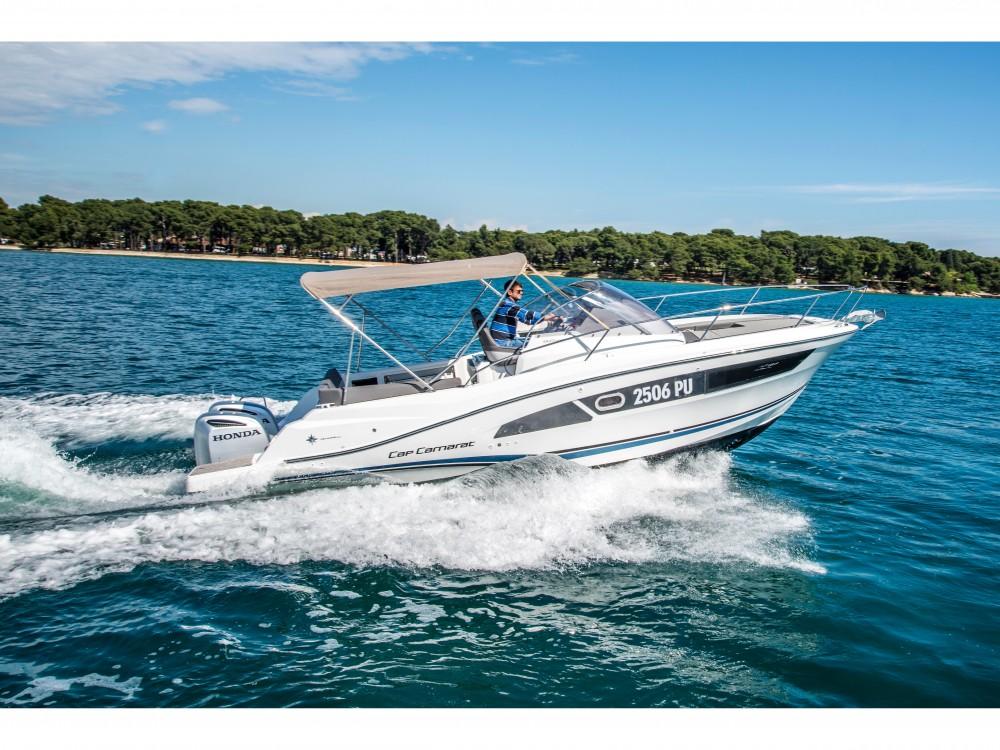 Verhuur Motorboot in Pula - Jeanneau Jeanneau Cap Camarat 9.0 WA