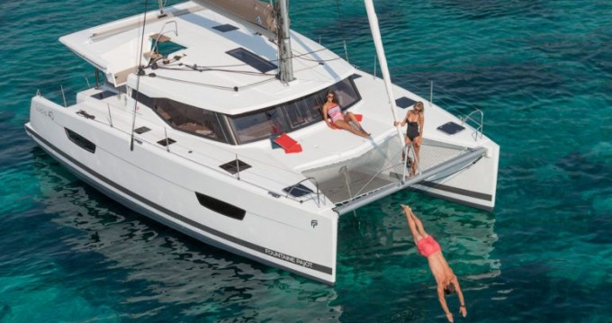 Fountaine Pajot Lucia 40 te huur van particulier of professional in Vodice