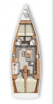 Verhuur Zeilboot in Trogir - Hanse Hanse 455
