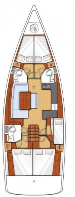 Huur Zeilboot met of zonder schipper Bénéteau in Pula