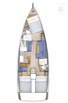 Bootverhuur Jeanneau Sun Odyssey 410 in Biograd na Moru via SamBoat
